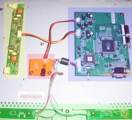 Membuat Proyektor LCD dari OHP Cml_151-internals