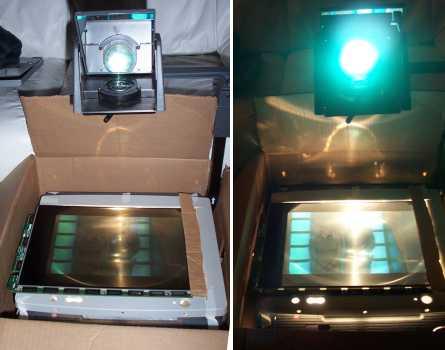 Membuat Proyektor LCD dari OHP Projector-prototype